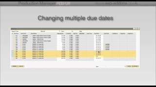 Managing planned production orders using SAP