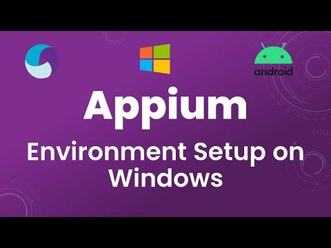Appium Tutorial 2: Appium For Mobile App Testing | Environment Setup