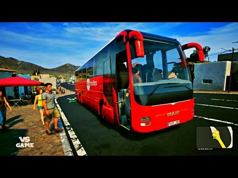 Antigua to Ajuy | Tourist Bus Simulator #10 Gameplay