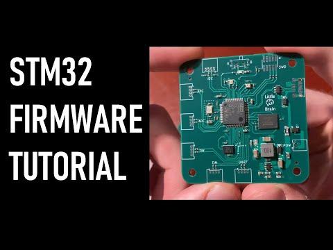 STM32 Programming Tutorial for Custom Hardware   SWD, PWM, USB, SPI