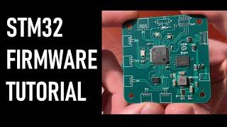 STM32 Programming Tutorial for Custom Hardware | SWD, PWM, USB, SPI