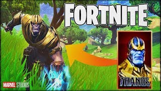 HOW TO GET THE THANOS SKIN IN FORTNITE BATTLE ROYALE?!! (16 KILLS GAMEPLAY)