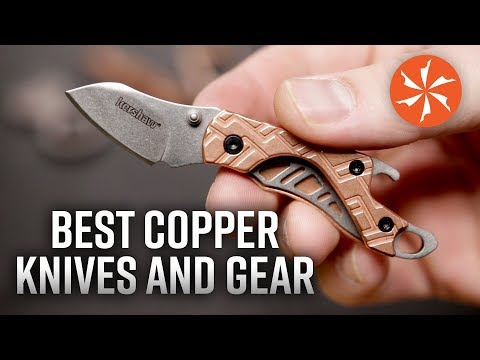The Best Copper Knives And EDC Gear Available At KnifeCenter.com