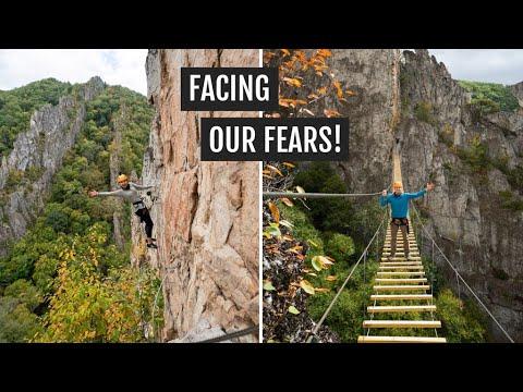 Climbing the NROCKS Via Ferrata in West Virginia! 🧗🏻♀️ (+ visiting Spruce Knob)
