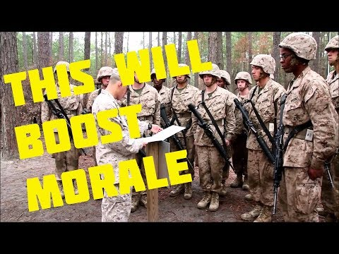 Candy for Recruits in MARINE BOOTCAMP!