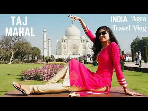 Agra Travel Vlog ❤ TAJ MAHAL | Spotted Peacock & Deers | India | Bhawna Ahuja