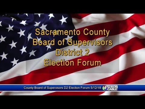 Election Forum: Dist. 2 Sacramento County Board of Supervisors