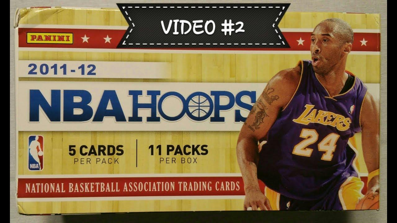 2edcac1432f 2011-12012 Panini NBA Hoops basketball trading cards. Video  2 - YouTube