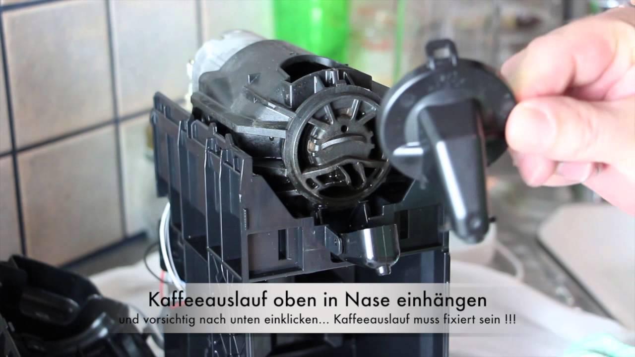 Nespresso Turmix Tx 180 Kaffeeauslass Reparatur Youtube