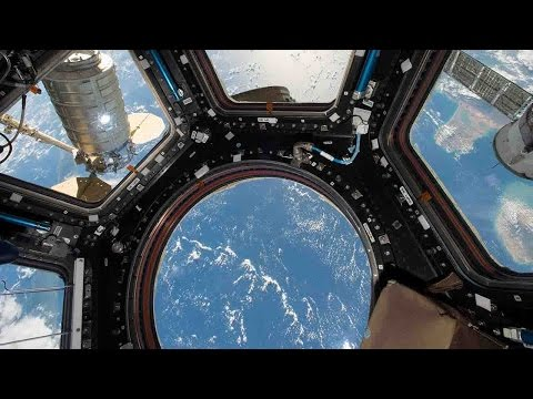 International Space Station: A closer look up above