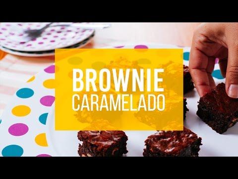 brownie caramelado | rapidinha na cozinha | naminhapanela.com