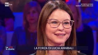 Lucia Annibali, Contro La Violenza Sulle Donne   La Vita In Diretta 25/11/2019
