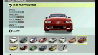 Ford Racing 3 - All Cars