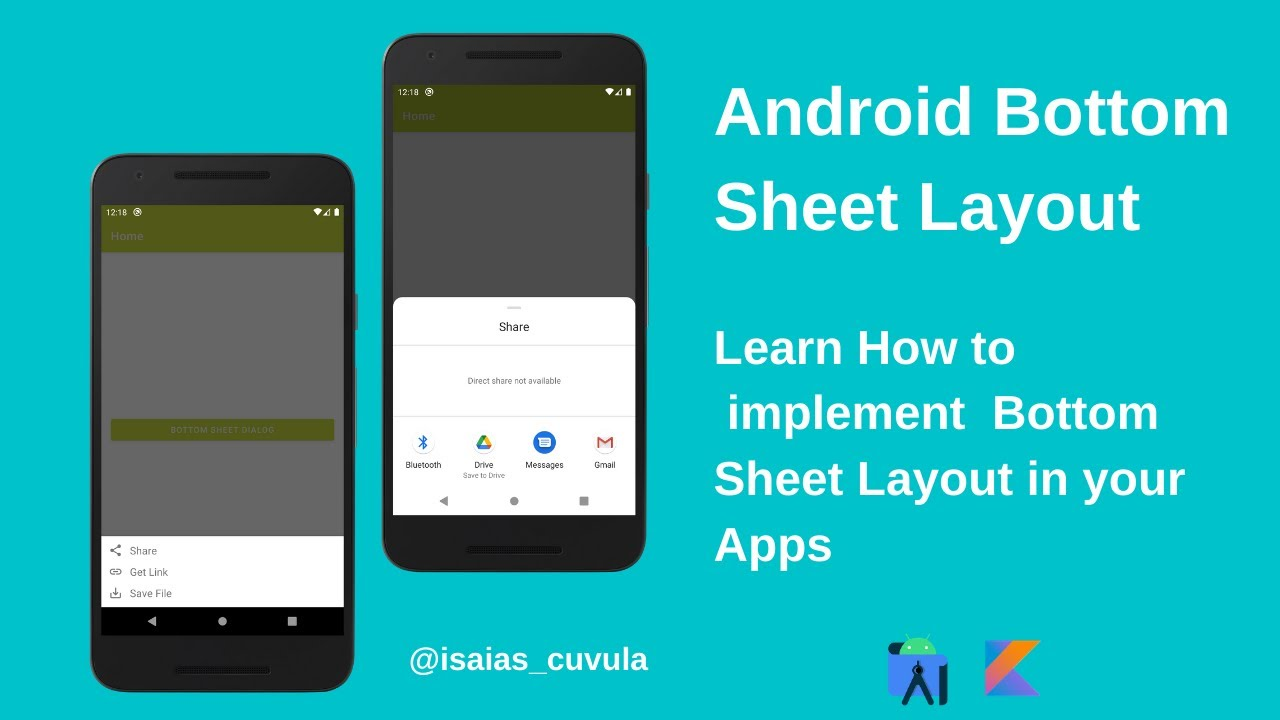 Android Bottom Sheet Dialog. Learn how to implementit in your Apps...