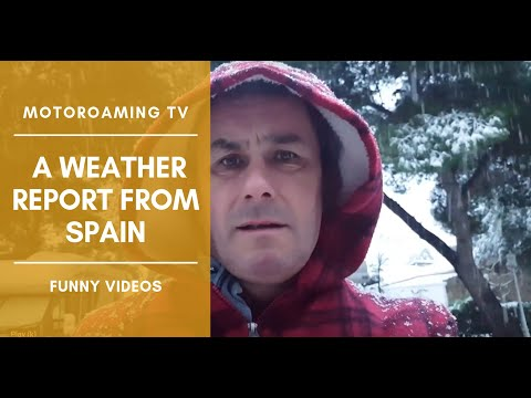 weather report from Spain