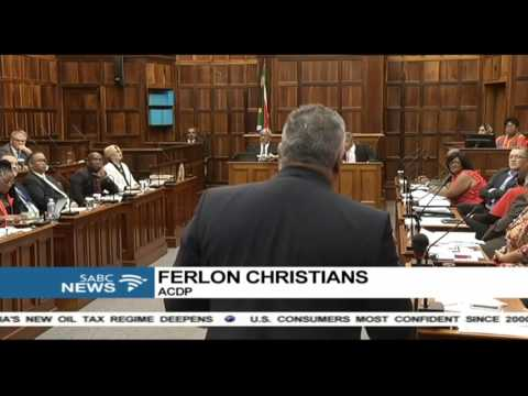 Insults flew during Zille