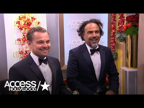 Golden Globes: Leonardo DiCaprio & Alejandro G. Inarritu - 'We Did Feel The Love'