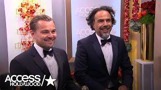 Golden Globes: Leonardo DiCaprio & Alejandro G. Inarritu -