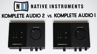Native Instruments Komplete Audio 1 vs. Komplete Audio 2 [Comparison & Sound Test]