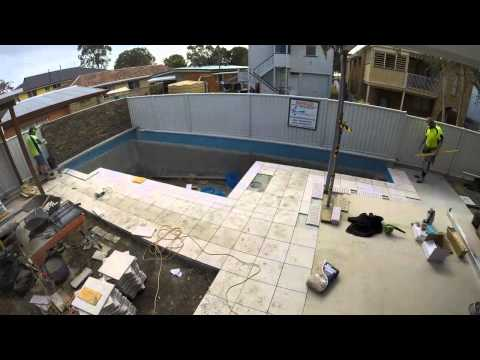 SWIMMING POOL CONSTRUCTION BRISBANE QLD START TO FINISH