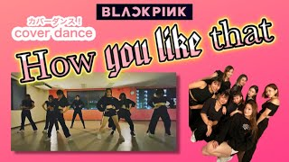 【DANCE COVER】BLACKPINK - How you like that [踊ってみた]