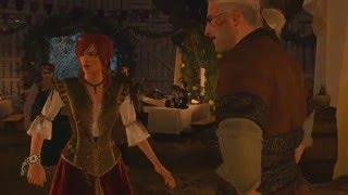 The Witcher 3 - Танец с Шани (dlc: Каменные сердца / без озвучки)