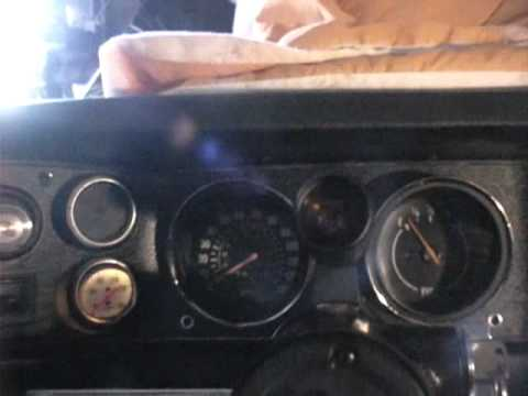 1971 Camaro Rebuilt Dash And Instruments With SHIFT LIGHT