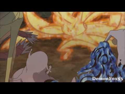 Naruto and Kurama AMV