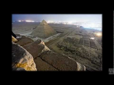 [HD] Russian photographers illegally scale the Great Pyramid at Egypt's Giza Necropolis