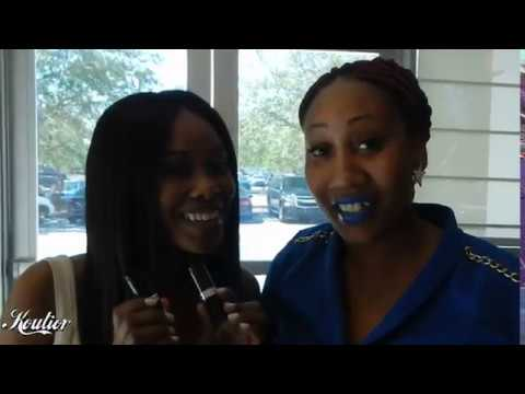 ACTRESS Jasmine Burke approves lipstick by KOUTIOR COSMETICS Where she was spotted with the CEO