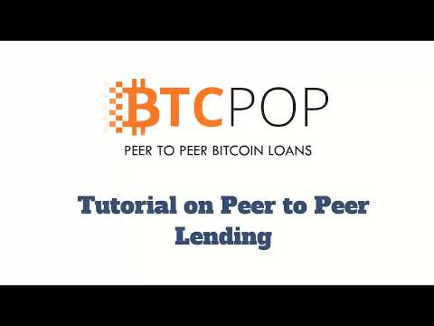 Bitcoinhomework Tutorial: How to fund a Bitcoin peer to peer personal loan on BTCPop.co