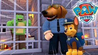ROPO JOINS PAW PATROL IN ROBLOX!!