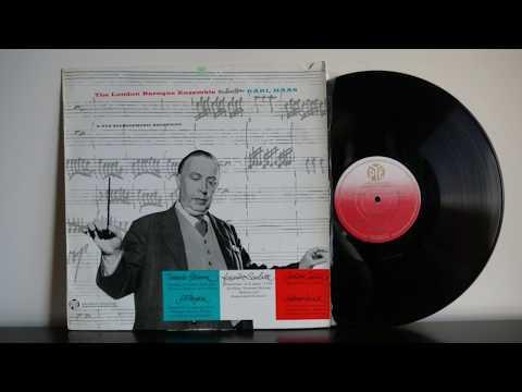 Scarlatti, Tartini, Vivaldi, Albinoni, Pergolesi   London Baroque Ensemble, Karl Haas   PYE CSCL 700