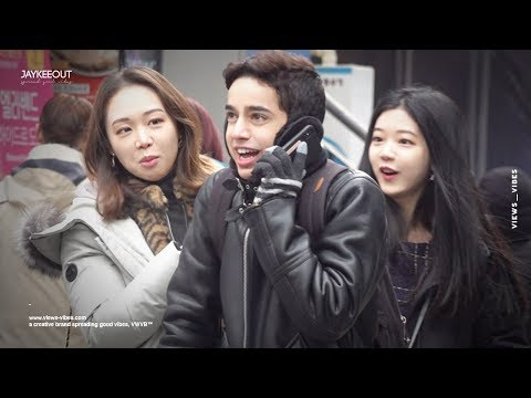 🗣 foreigner pranking koreans in perfect korean 2 (french ver.) | pranks