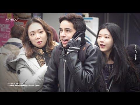 😂 foreigner pranking koreans in perfect korean 2 (french ver.) | pranks