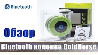Bluetooth колонка Goldhorse.  Обзор и тест беспроводной колонки.