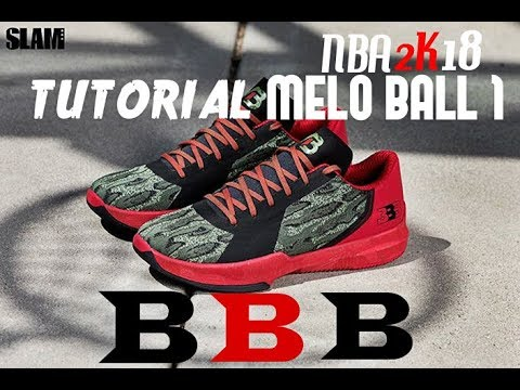 NBA 2K18 - Shoe Creator: Melo Ball 1 (Big Baller Brand)