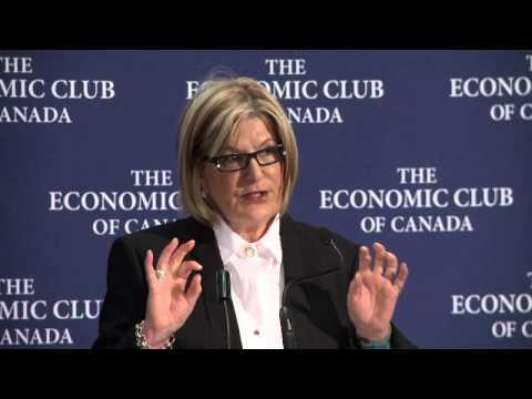 Louise Bradley's speech to Economic Club of Canada