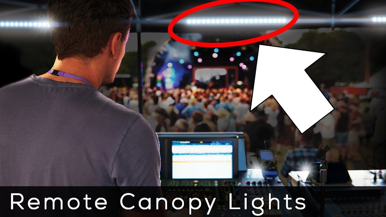 Bright LED Lights for your Outdoor Canopy