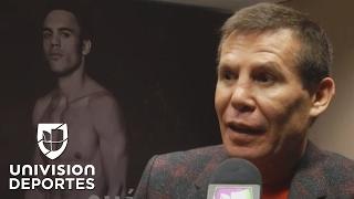 """Julio César Chávez sobre la pelea 'Canelo' vs. Chávez Jr.: """"Es una pelea personal"""""""