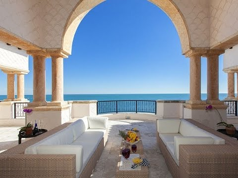 Oceanfront Penthouse in Fisher Island, Florida
