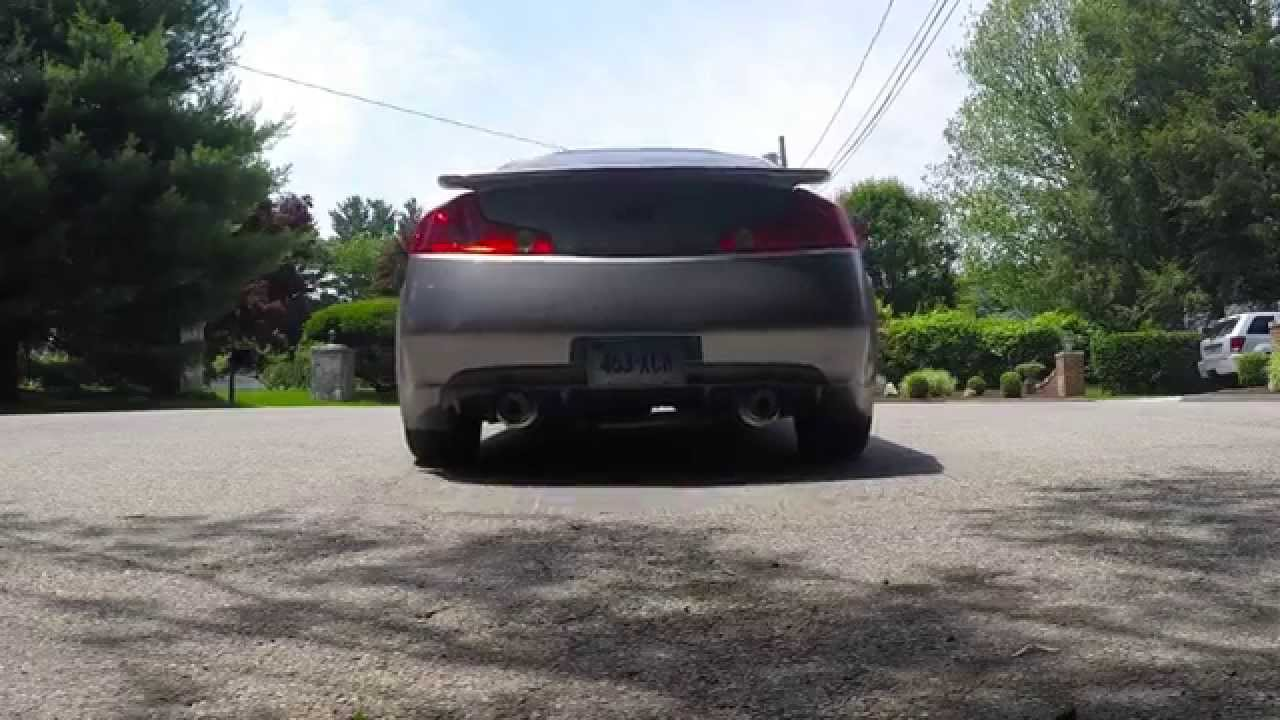 infiniti g35 coupe top speed pro 1 exhaust with berk hfc. Black Bedroom Furniture Sets. Home Design Ideas