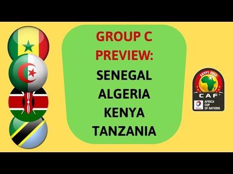 AFCON 2019: Group C Preview | Senegal, Algeria, Kenya, Tanzania