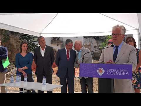 Consignação do 1.º troço da Via Central - Intervenção de Eduardo Cabrita