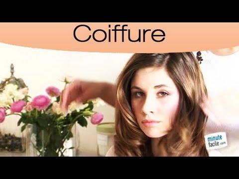 Faire une coiffure naturelle et romantique youtube - Fabriquer une coiffeuse ...