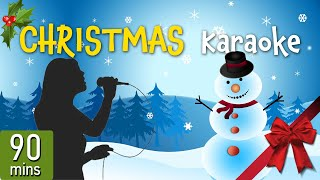 The Christmas Karaoke - 90 minutes with the Best Christmas Songs with lyrics