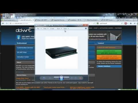 How To Install DD-WRT On A Wireless Router -Part1
