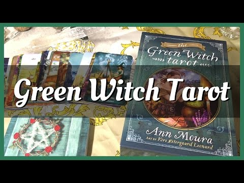 Green Witch Tarot: Unboxing, First Impressions + Llewellyn's New Card Stock