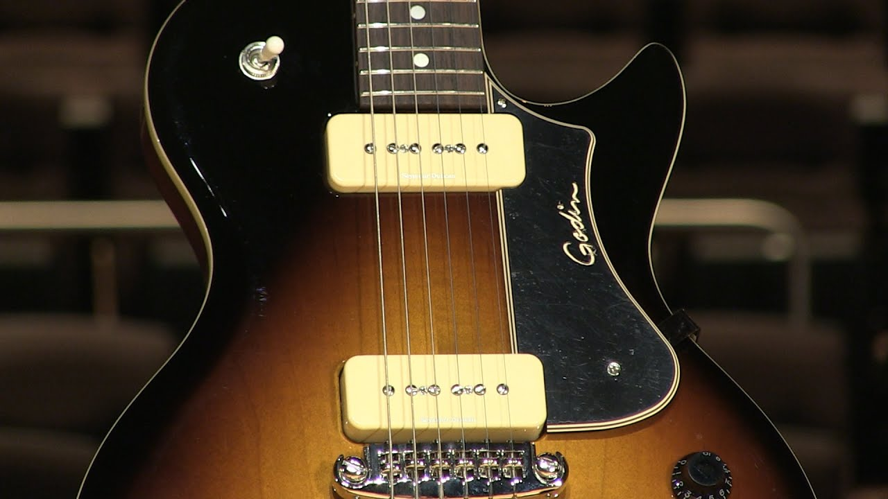 godin core ct p90 guitar demo by sweetwater youtube