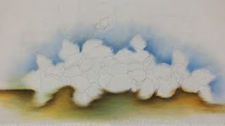 Pintura em tecido: Fundo da pintura